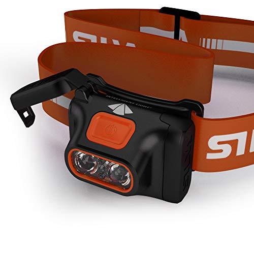 Silva Unisex-Erwachsene Scout Stirnlampe, Orange, One Size