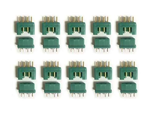 marfitec © 10 Paar (20 Stück) MPX Steckverbinder (Stecker/Buchse) kompatibel