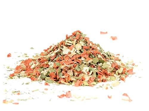 Suppengrün getrocknet und geschnitten - Suppengewürz ohne Zusätze - Suppengemüse - 300g