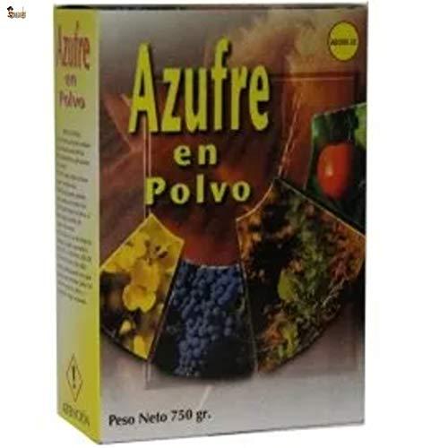 BricoLoco Azufre en Polvo espolvoreo. Anti oídio Plantas. Abono, Fertilizante, fungicida acaricida...