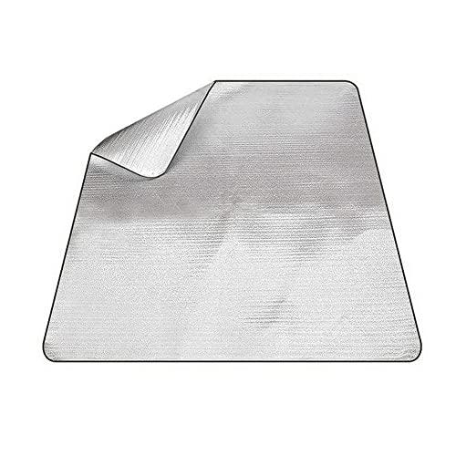 IWILCS 200 x 150 cmSchaummatten Schlafmatte, Isolierdecke Faltbare,Isomatte Schaummatten, Für outdoor Camping Matte Picknick Isomatte (Silber)