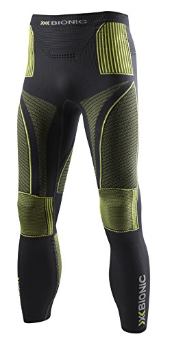 X-Bionic Man Acc Evo UW Pantalon Fonctionnel pour Adultes XXL Gris - Charcoal/Yellow