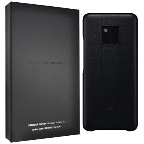 Original Porsche Design Schutzhülle für Porsche Design Huawei Mate 20 RS Smartphone, schwarz