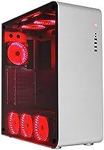 Gamemax FC-9225-R Full Tower Kasa, 2 x USB 3.0, 1 x USB 2.0, 1 x Audio Set, 32 Led'li Fan, Kırmızı