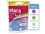 Mara Expert - Cepillos de dientes para los espacios interdentales con sabor a menta, recubiertos de...