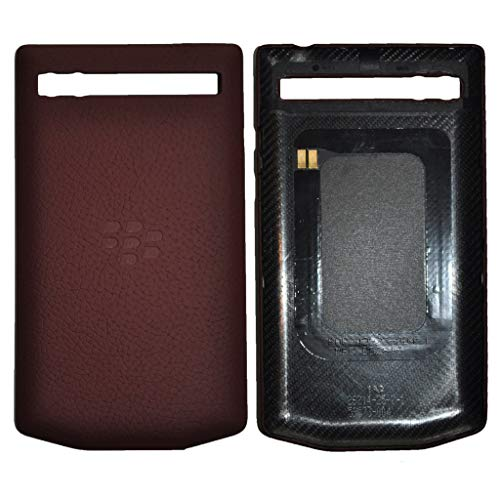 PD Leather Battery Door Cover P`9983 Pomegranate