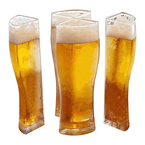Bicchiere Birra Super Schooner 4 In 1, Set Di Boccali Da Birra, Bicchieri Collegati, Vetri Acrilici Per Feste, KTV, Casa, Bar (S)