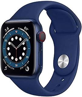 T500 Smartwatch Series 5 2020 blood pressure BT call music player 44mm Heart Rate Smart Watch (dark blue)