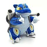 HEWE Pokemon Pocket Monster Plush Toys 20Cm,Mega Blastoise Cute Cartoon Anime Collection Soft Stuffed Plush Doll Children Kids Toys zhengge