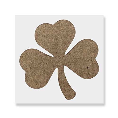 Shamrock Stencil - Reusable Stencils for Painting - Create DIY Shamrock Crafts and Projects