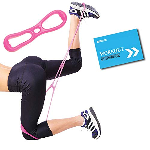 BBooster Squat belt - Booty Workout Bands System with Medium-High glute band - Ultimate Brazilian resistance bands for legs and butt + Free Workout Guide, 4-Week Plan, Gym Bag