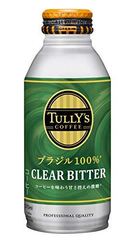 伊藤園 タリーズコーヒー 微糖 ブラジル100% HOT&COLD対応 (ボトル缶) 370ml ×24本