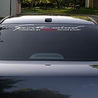 JIERS 起亜ソレントの場合、オートモータースポーツフロントリアフロントガラスカーステッカーオートデコレーションスポーツデカールカーアクセサリー