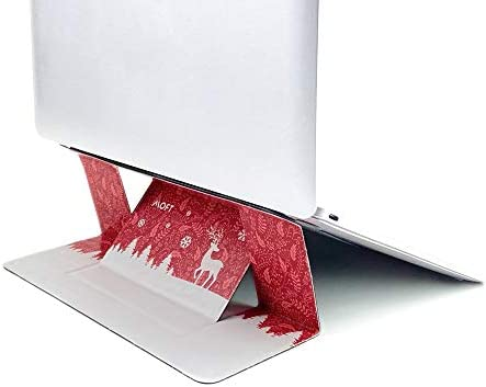 """MOFT Invisible Slim Laptop Stand, Adhesive and Reusable, Adjustable Perfect Viewing Angles, Compatible with Laptops Up to 15.6"""""""