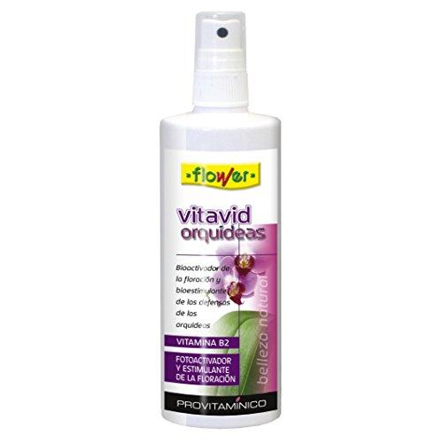 Flower 10732 10732-Abono líquido Vita Vid orquídeas, No Aplica, 5x5x16.2 cm