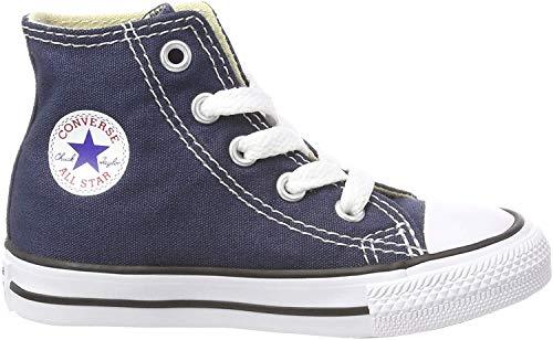 Converse Unisex-Kinder Chuck Taylor All Star Hi Hohe Sneakers, Blau Marine, 32 EU