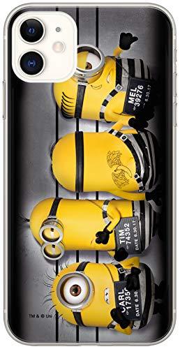 Ert Group DWPCMINS10270 Minions Cubierta del Teléfono Móvil, 026, iPhone 11