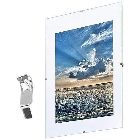Bilderrahmen Rahmenlos Glasbilderrahmen Bildformat 29 7 X 42 Cm Din A3 Normalglas