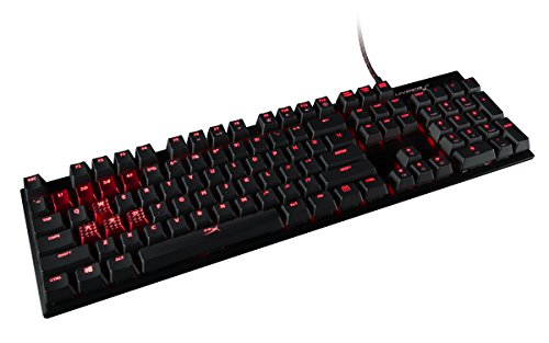 HyperX Alloy FPS USB QWERTY US Englisch Schwarz - Tastaturen (Verkabelt, USB, Mechanischer Switch, QWERTY, LED, Schwarz)