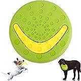 giocattolo a dischi volanti, giocattolo a disco volante per animali domestici per cani, giocattoli da masticare per cani interattivo, rimovibile come frisbee boomerang, solido e durevole