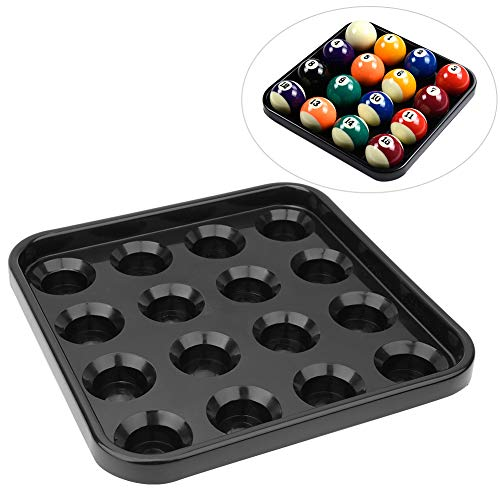 Best Bargain Pool Ball Tray Billiard Ball Holder Tray Snooker Ball Storage Tray Holds Billiard Balls...