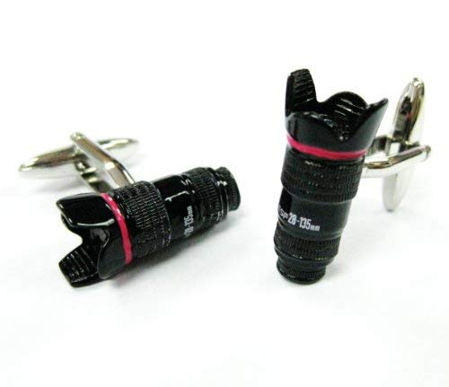 Tailor B Manschettenknöpfe Kamera Objektiv 28–135mm Objektiv 230164–1gemelos schwarz
