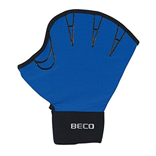 Beco Unisex– Erwachsene Lycra Handschuhe-9634 Schwimmhandschuhe, Sortiert/original, M