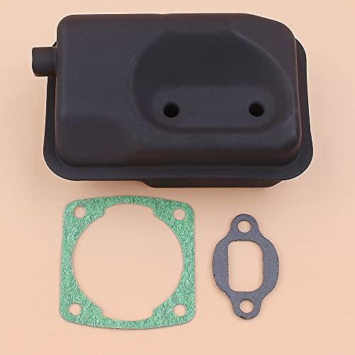 kusashangye Kit Guarnizione Scarico Marmitta per Subaru per Robin NB411 CG411 NB351 EC04 Motori Motore Decespugliatore 2 Tempi Decespugliatore