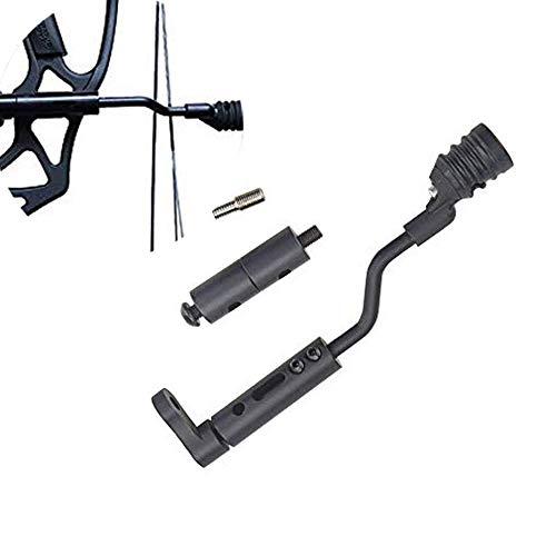 ZSHJG Compound Bow String Stop Bracket Decelerator Rod Vibration Archery Stabilizer Balance Suppressor Mount Silencer (Style 2)