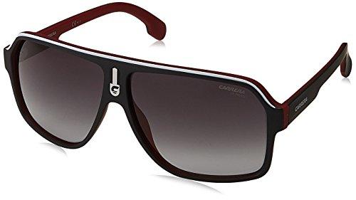 Carrera 1001/S 9O BLX Gafas de sol, Rojo (MTBKRTCRYRED/DARK GREY SF), 62 Unisex-Adulto