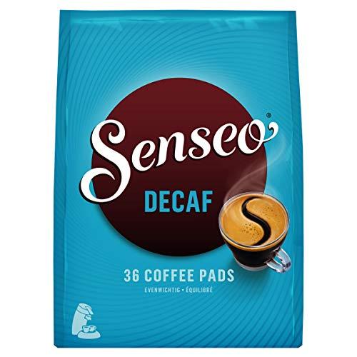 Koffeinfreier Senseo-Kaffee Entkoffeinierte Kaffeepads, 10 x 36 Pads