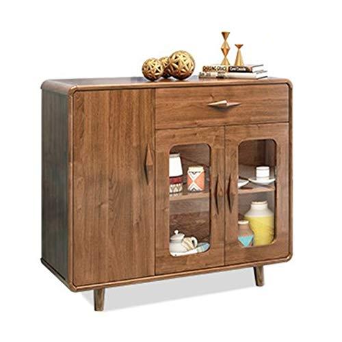 Feixunfan Aparador Cabinete de Vino del aparador Mueble de Almacenamiento de gabinete Simple Moderno Gabinete de Almacenamiento de Cocina para el Pasillo de la Sala de Estar