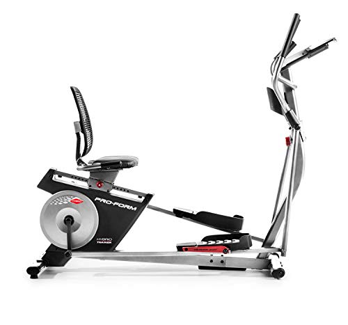 ProForm Hybrid Trainer XT Recumbent Bike and Elliptical with 30-Day All-Access iFit Membership