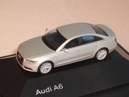 Herpa A-U-D-I A6 A 6 Ab 2011 C7 C 7 EIS Silber Limousine Ho H0 1/87 Modellauto Modell Auto