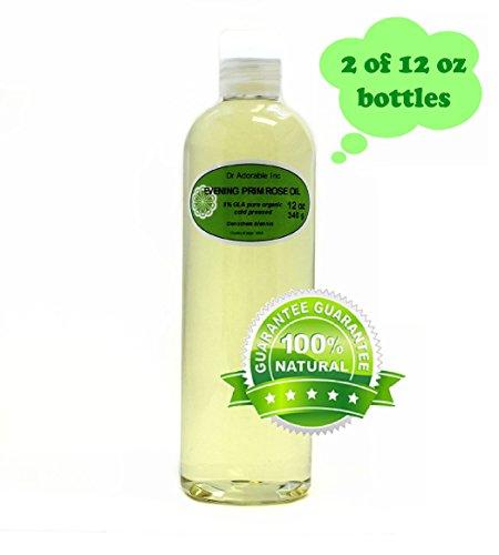 Evening Primrose Oil 9% GLA Health Natural Care 24 Oz
