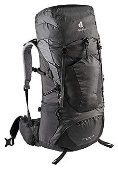 deuter AircontactLite Sac à dos de trekking, Mixte Adulte, Gris graphite/Noir (graphite-black), 60L