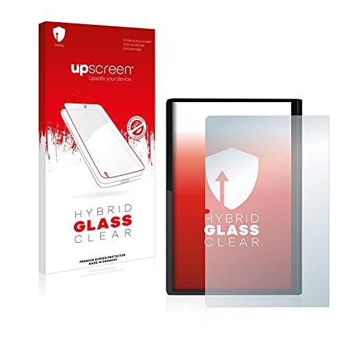 upscreen Protector Pantalla Híbrido Compatible con Lenovo Yoga Tab 11 (Retrato) Hybrid Glass – 9H Dureza