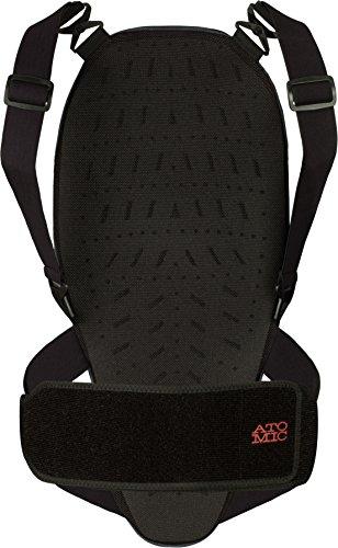 Atomic, Damen Ski-Rückenprotektor, Verstellbar, Weich und atmungsaktiv, Ridgeline, Größe S, Grau, AN5205010S