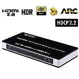 【最新版Ultra HD HDMI切替器】このHDMI セレクター/切替器はHDMI 2.0にサポートできまて、4K@60hz, HDCP 2.2, 12bit per channel(36bit all channels)Deep Color, フルHD 1080Pでも互換性を持っています。HDMI ビデオソース(ゲーム機, blue-ray player, パソコンなど) はUltra HDTVと接続してリモコン或HDMI切替器のコントロールボタンで入力信号の切替やセレクターをします。 【H...
