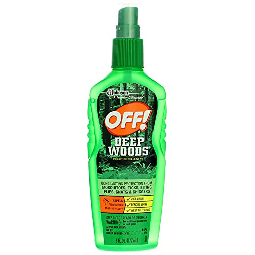 OFF! Deep Woods Off! Insect Repellent Pump 6 oz (Pack of 2)