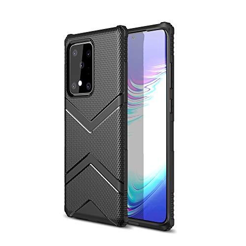 Diztronic Custodia Galaxy S20 Ultra, Cover Galaxy S20 Ultra, Military Grade Drop Tested, Rugged TPU Shock Absorption Case for Samsung Galaxy S20 Ultra (Black)