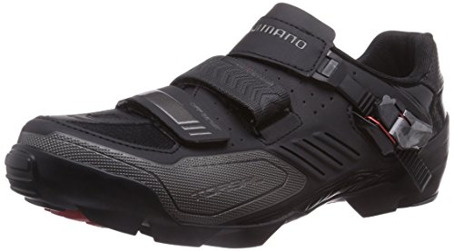 SHIMANO SHIMANO E-SHM163L, Unisex-Erwachsene Radsportschuhe - Mountainbike, Schwarz (Black), 40 EU