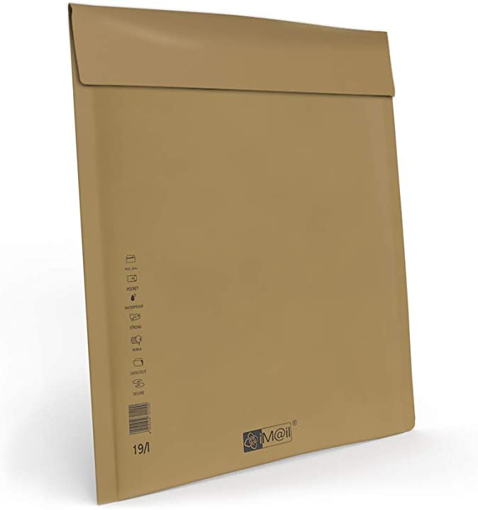 Buste postali imbottite - ideali per spedire e proteggere oggetti -30x44,5 cm - 400 pezzi B01ITXI03S