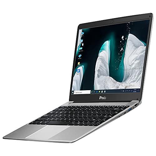Portatil, iProda Ordenador Portatil Intel Celeron 5205U 14 Pulgadas, 2.4GHz, Windows10 Pro Ordenador Portatil, 8GB RAM 256GB SSD, 1920*1080 FHD, HDMI, WiFi, Ordenador Portátil con Teclado Español