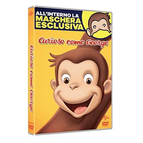 Curioso Come George (Dvd + Maschera) (Carnevale Collection)