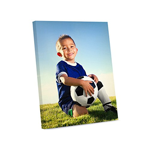 Picture Wall Art Your Photo on Custom Canvas Gallery Wrapped 8 x 10 Vertical Print Stretched Over Standard Wooden Frame