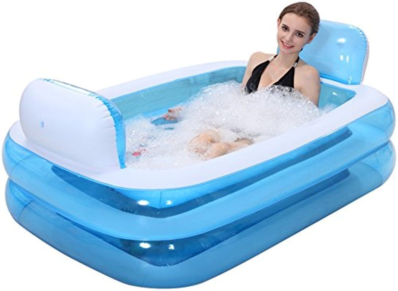 Aufblasbare Plastikbadewannen-faltende Wanne, Die Erwachsene Badewanne-Kinder Einweicht, Baden Badewanne-Fass-Bad-Fass