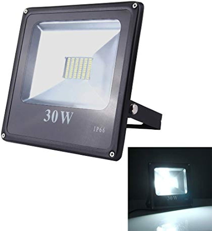 Warmhome Einfach  30W 2700LM SMD-5730 IP66 wasserdichtes LED-Flutlicht, wasserdichtes Flutlicht im Freien, AC 85-265V Stabil
