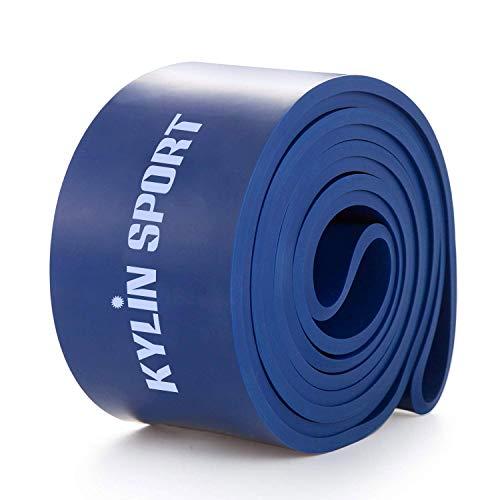 Yarrashop - Set di fasce di resistenza per fitness, trazioni termiche, per allenamento di forza, allenamento, fitness, pilates, yoga, casa, allenamento (blu)
