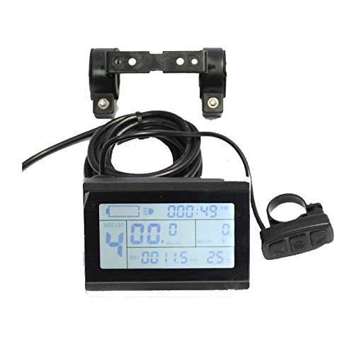 24V 36V 48V ebike intelligent LCD Control Panel LCD Display for our 24V 36V 48V Controller by HalloMotor